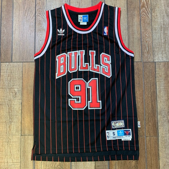5d1aaefafdf5 NEW Dennis Rodman Chicago Bulls Swingman Jersey